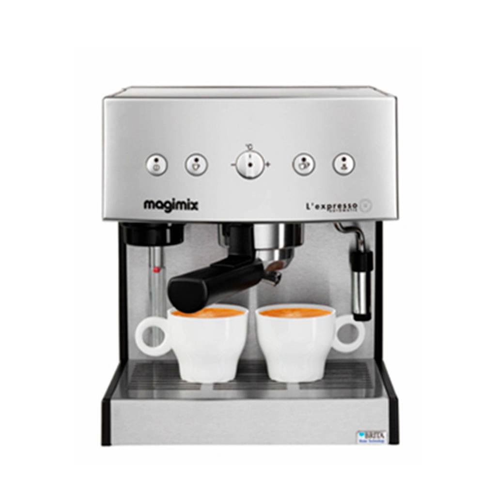 Magimix L expresso Automatic espressomachine, Zilver