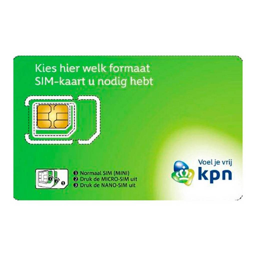 KPN prepaid simkaart (3-in-1), Groen