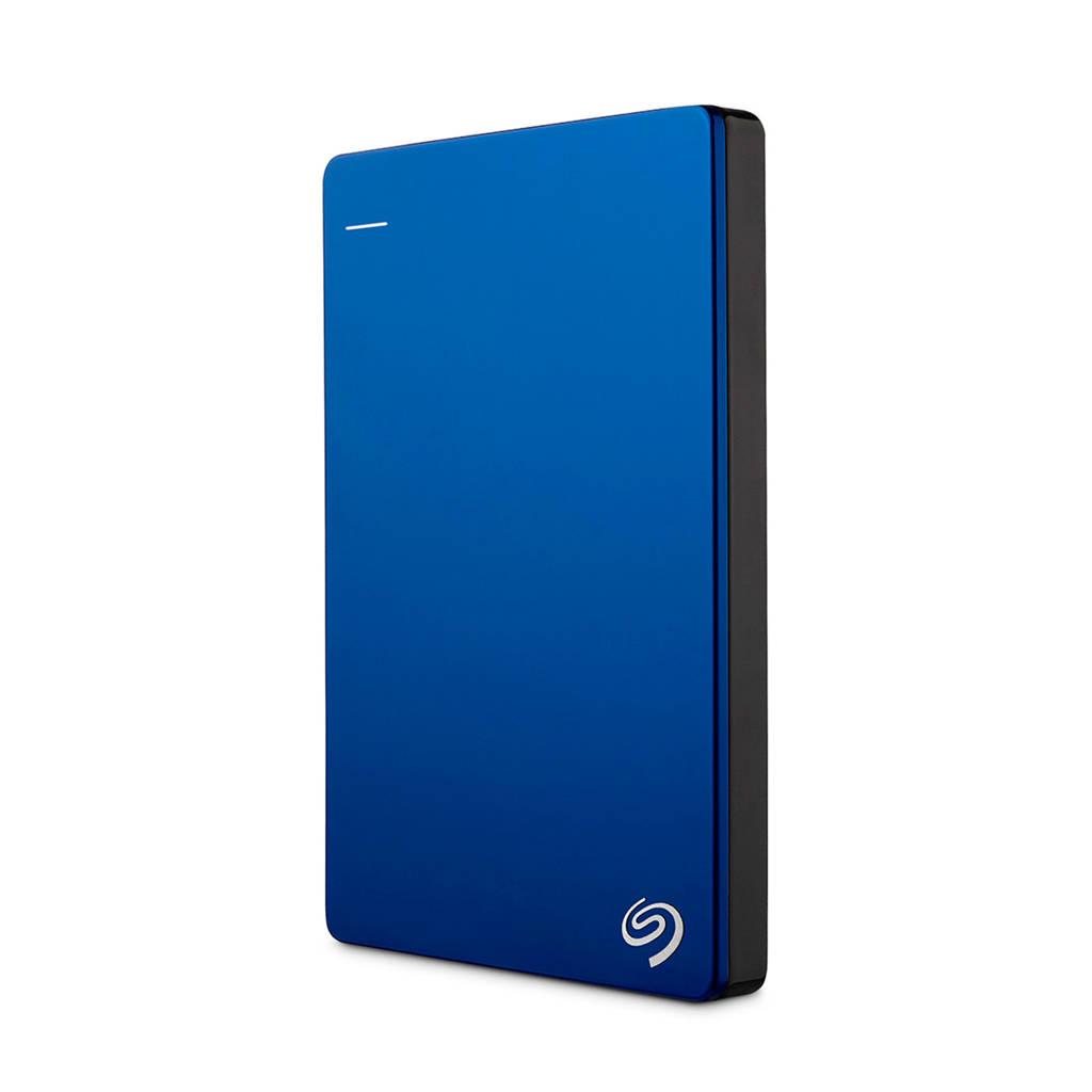 Seagate 1TB USB 3.0 Backup Plus Slim externe harde schijf, Blauw