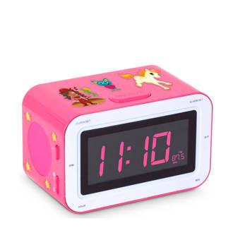RR30RSSTIC wekkerradio roze