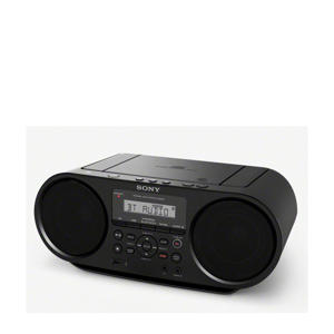 ZSRS60BT portable radio/CD speler met Bluetooth