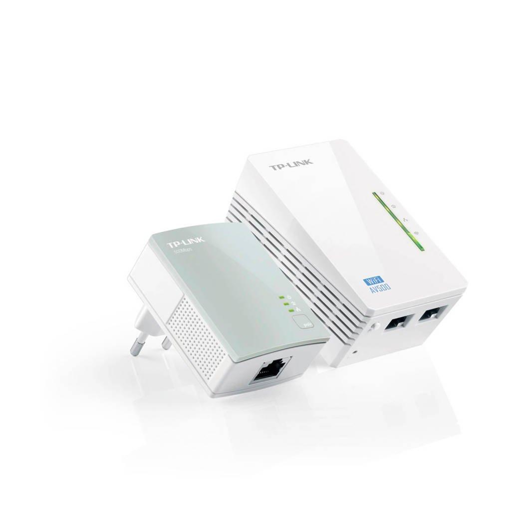 TP-Link TL-WPA4220KIT Wi-Fi Powerline extender startset, wit, grijs