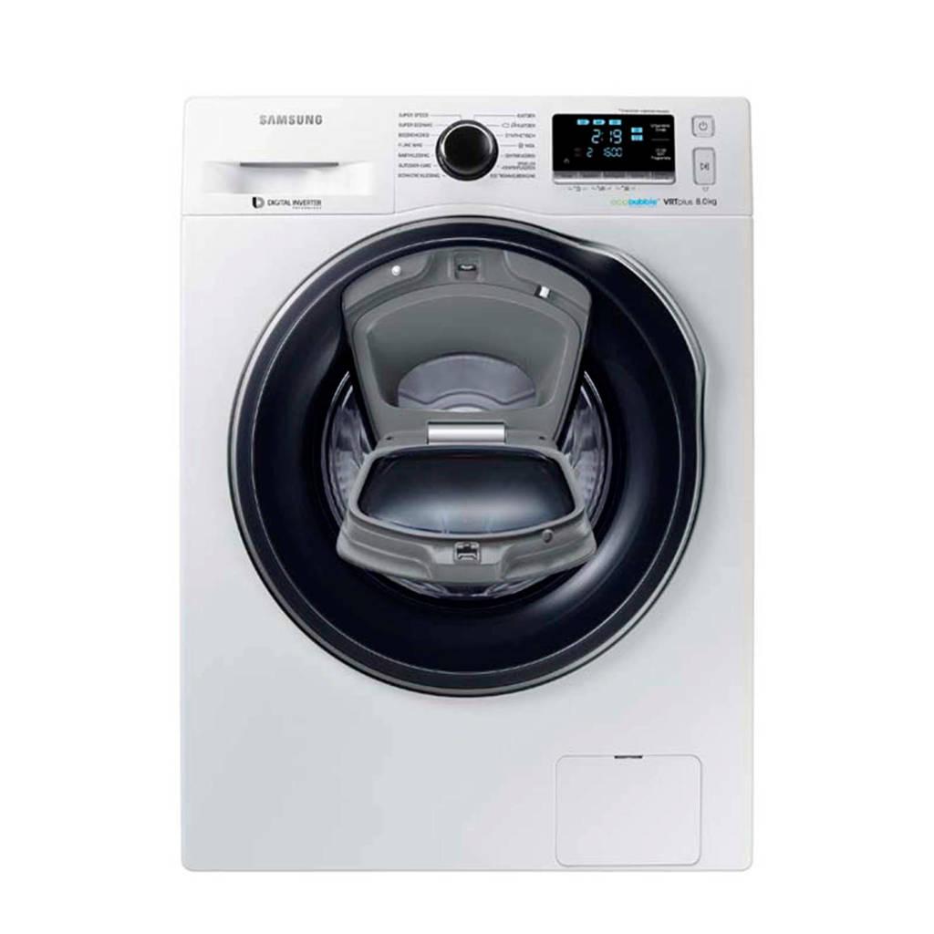 Samsung WW80K6604QW/EN AddWash wasmachine