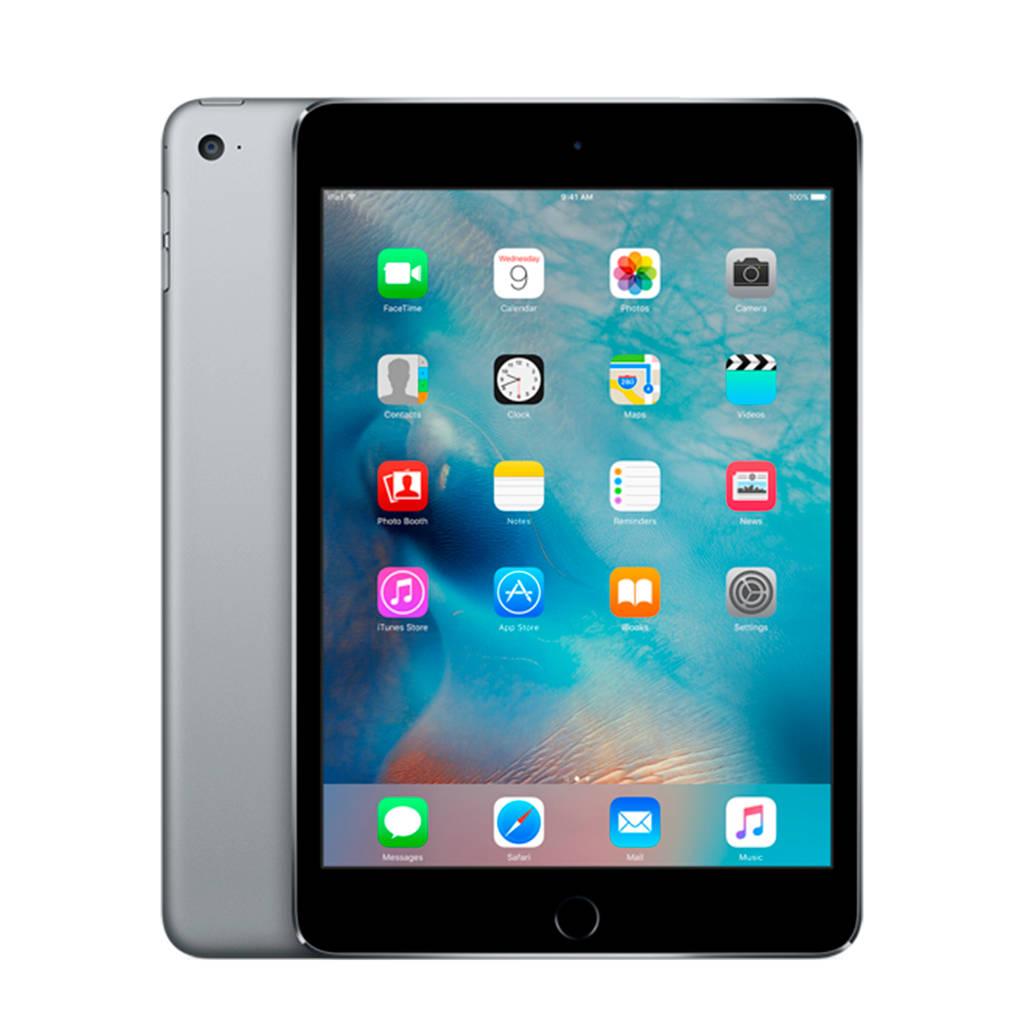 Apple iPad mini 4 128GB Wifi + 4G MK762NF/A, Grijs