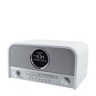NR850WE nostalgische bluetooth radio wit