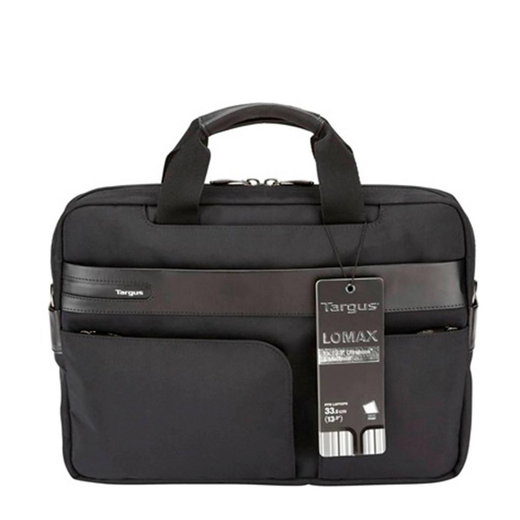 Targus SAC 13  LOMAX BK 13,3 inch laptoptas 13,3, inch zwart, Zwart