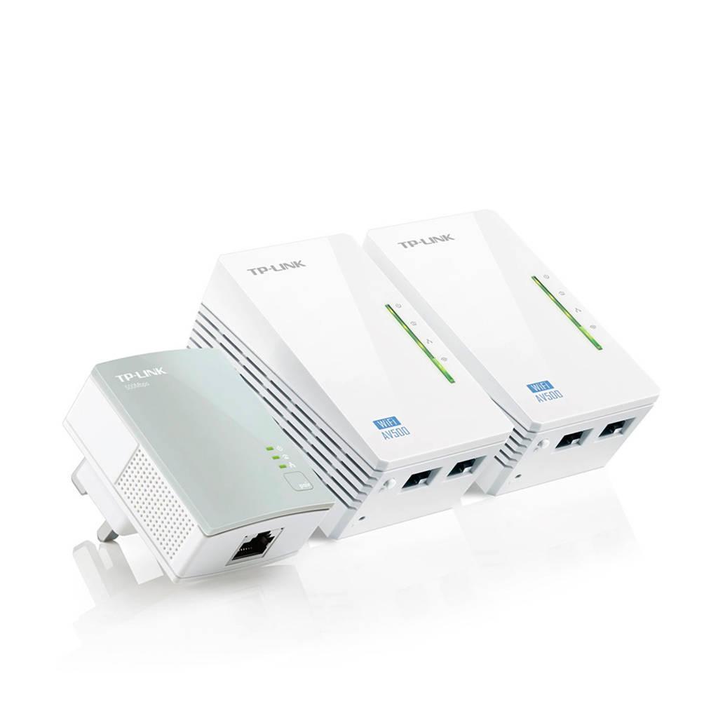 TP-Link TL-WPA4220T KIT Mbps AV500 Wi-Fi Powerline startset, Wit