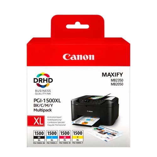 Canon PGI1500XL 5CL multipack inktcartridges (zwart+kleur) kopen