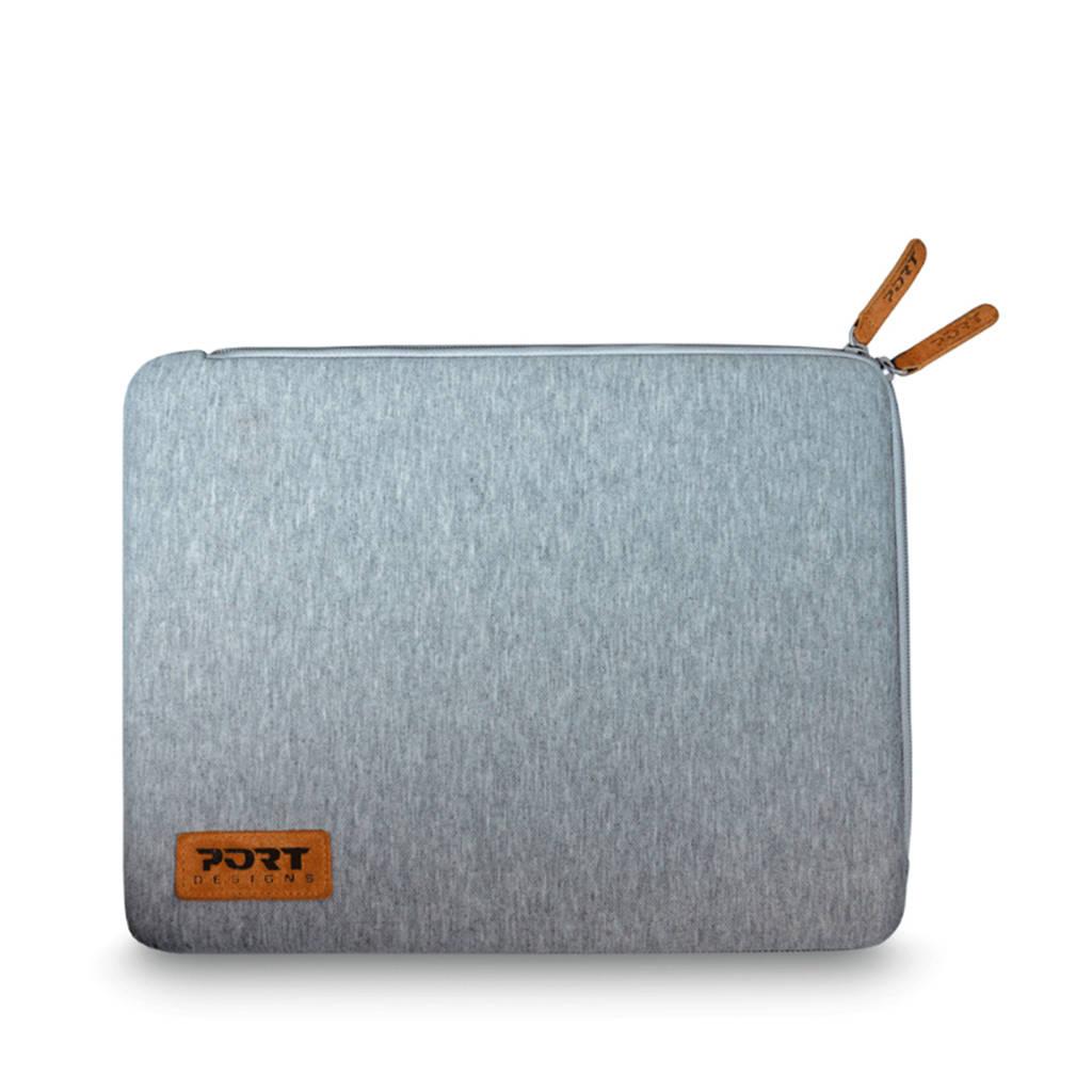 Port Torino 13.3 laptop sleeve, Grijs