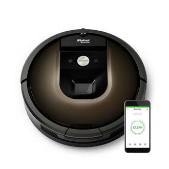 Roomba 980 robotstofzuiger