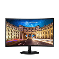 Samsung LC24F390FHUXEN 24 inch curved monitor, N.v.t.