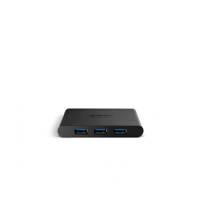 Sitecom CN-085 USB 3.0-hub zwart, Zwart