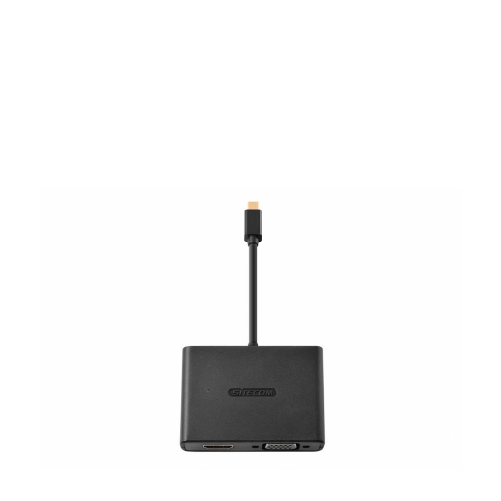 Sitecom multimedia kabel CN-347 HDMI/VGA, Zwart