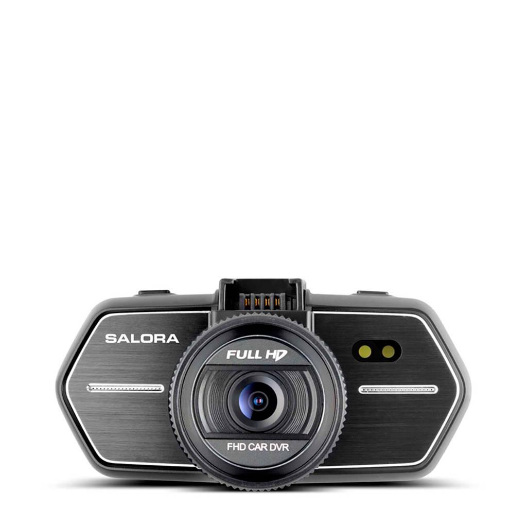 Salora CDC3350FD dashcam, Zwart