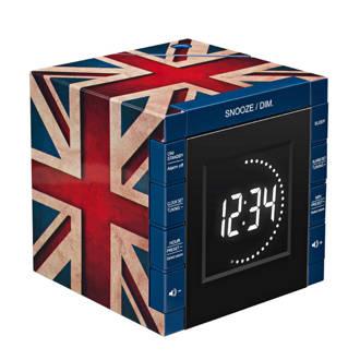 UK Flag wekkerradio