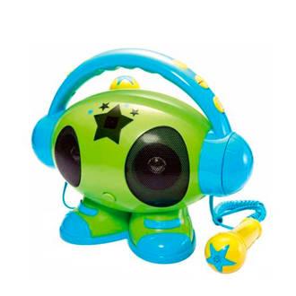 ROBOT01 BLAUW karaoke speler