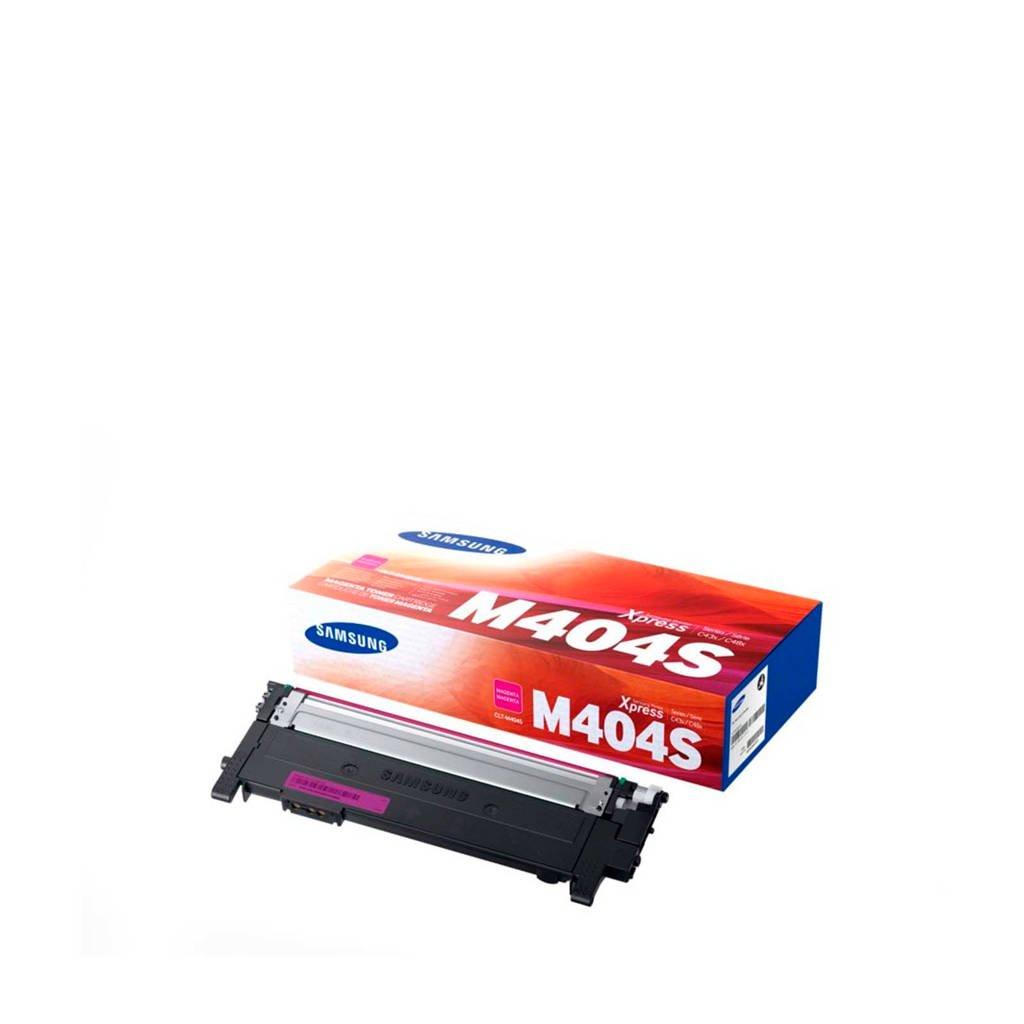 Samsung CLT 404S MAGENTA toner cartridge, Zwart
