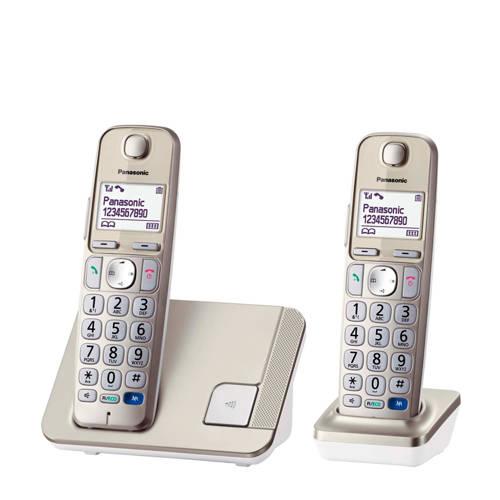 Panasonic KX-TGE212NLN huistelefoon zilver kopen