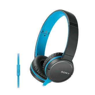 MDRZX660 on-ear koptelefoon blauw