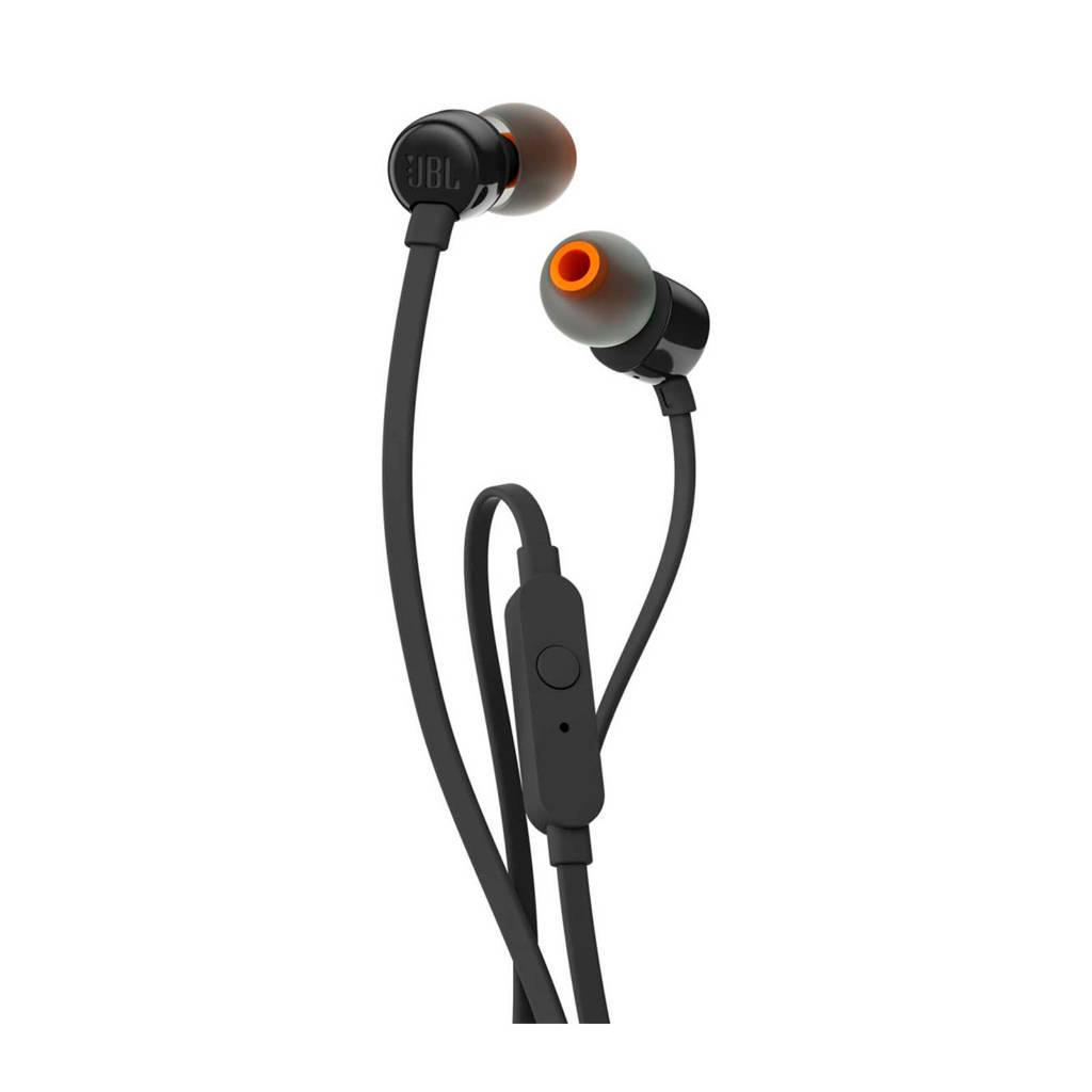 JBL T110 in-ear hoofdtelefoon (zwart), Zwart