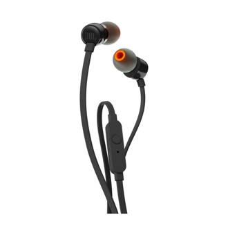 T110 in ear koptelefoon zwart