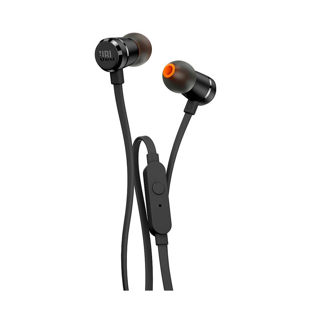 JBL T290 in ear koptelefoon zwart, Zwart