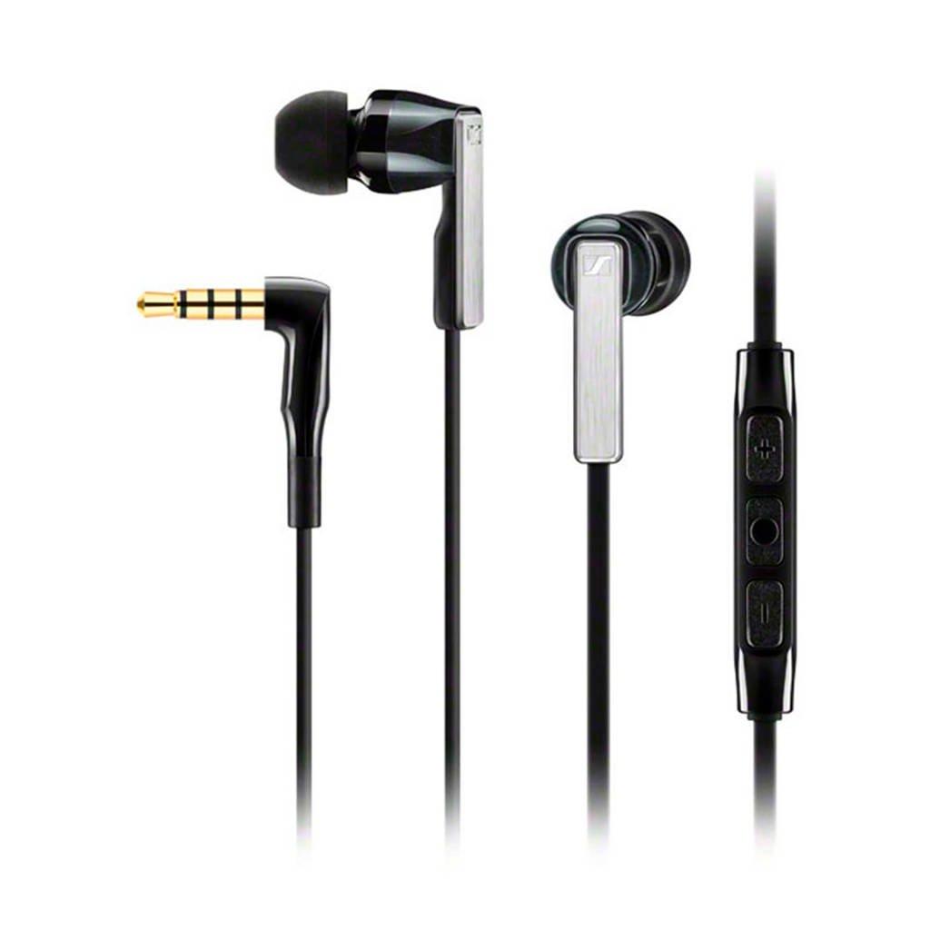Sennheiser CX 5.00G in-ear koptelefoon zwart, Zwart