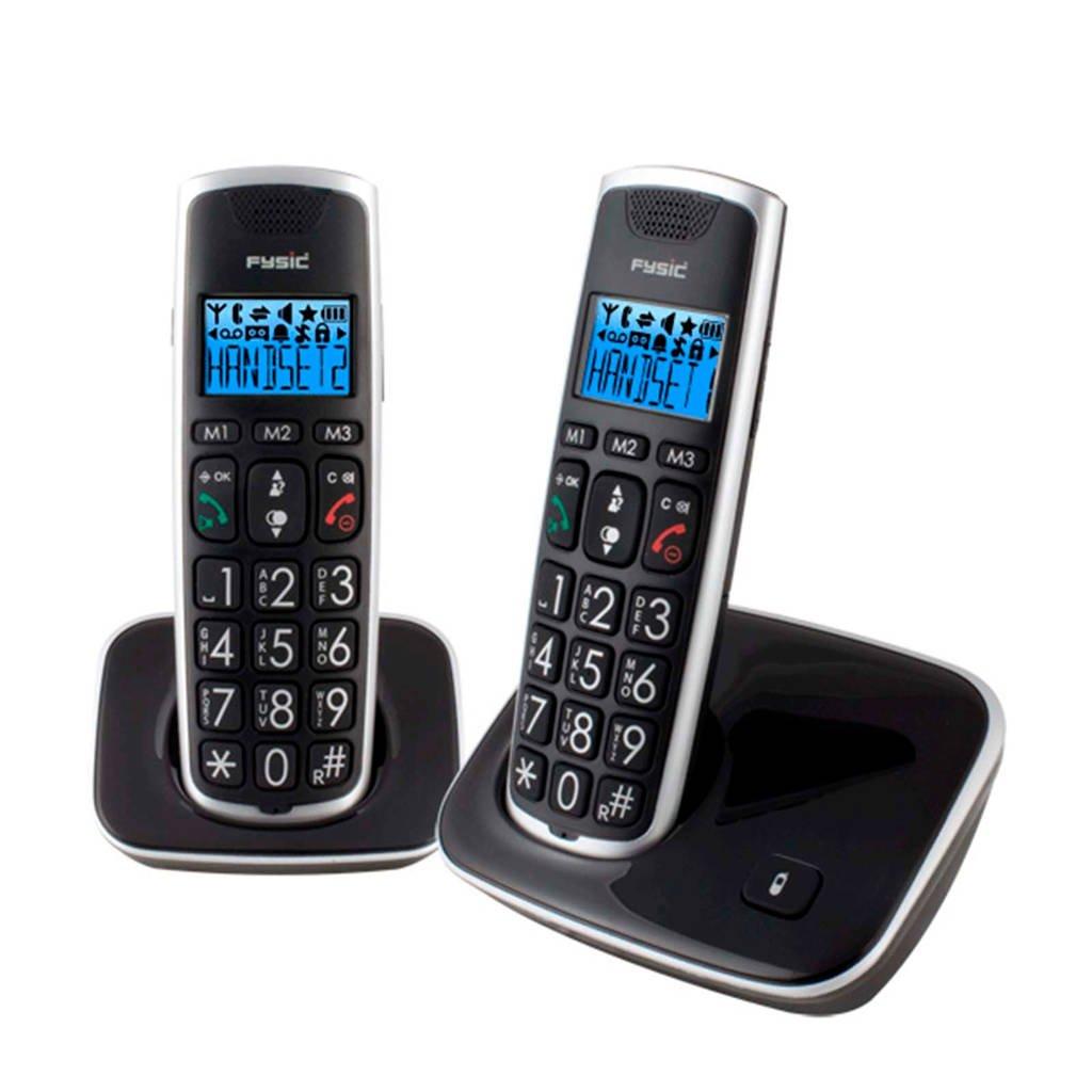 Fysic FX-6020 huisseniorentelefoon, Zwart