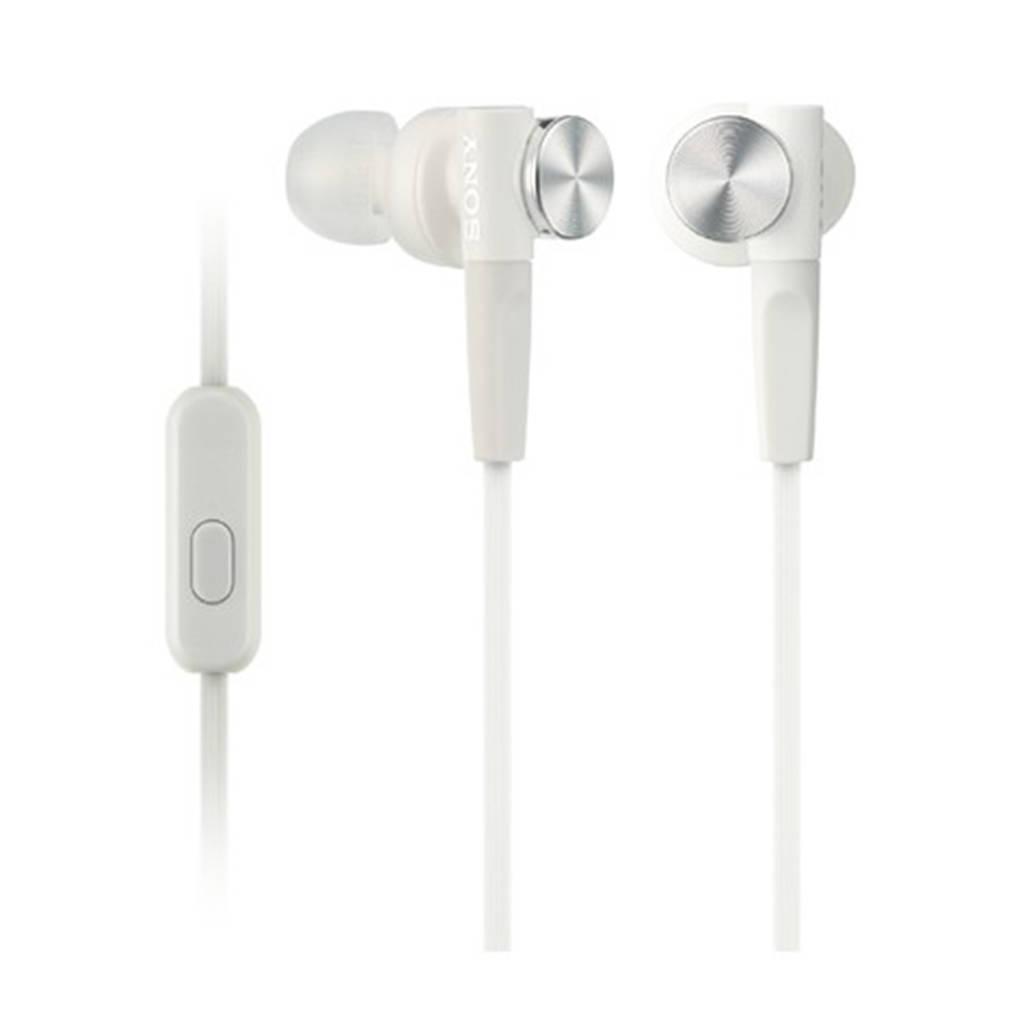 Sony MDR-XB50APW oortjes, Wit