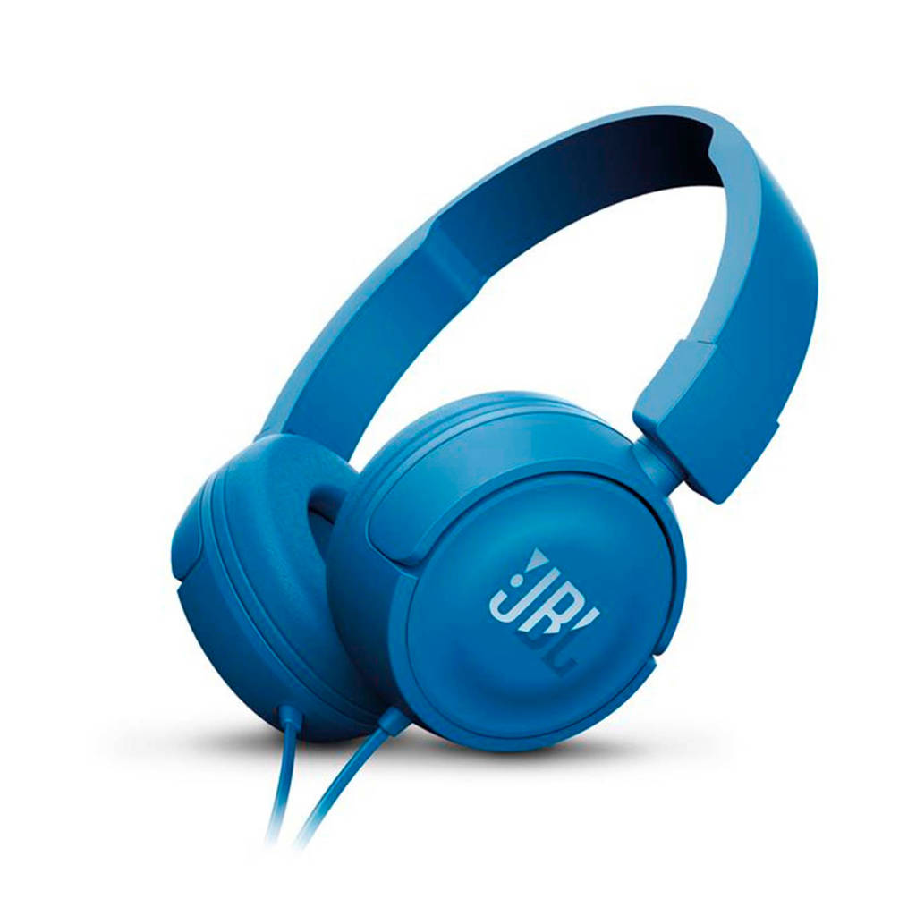 JBL T450 on-ear koptelefoon blauw, Blauw