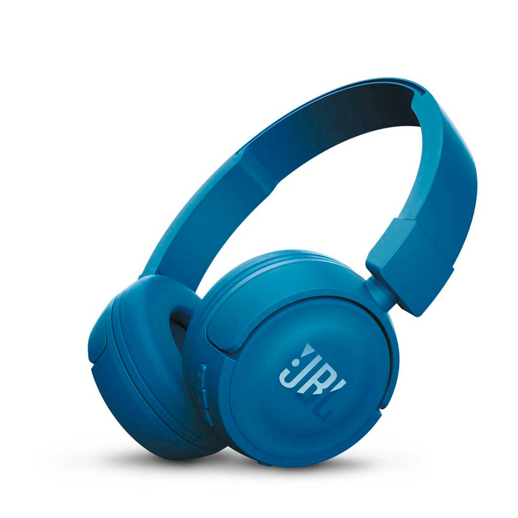JBL T450BT on-ear bluetooth koptelefoon blauw