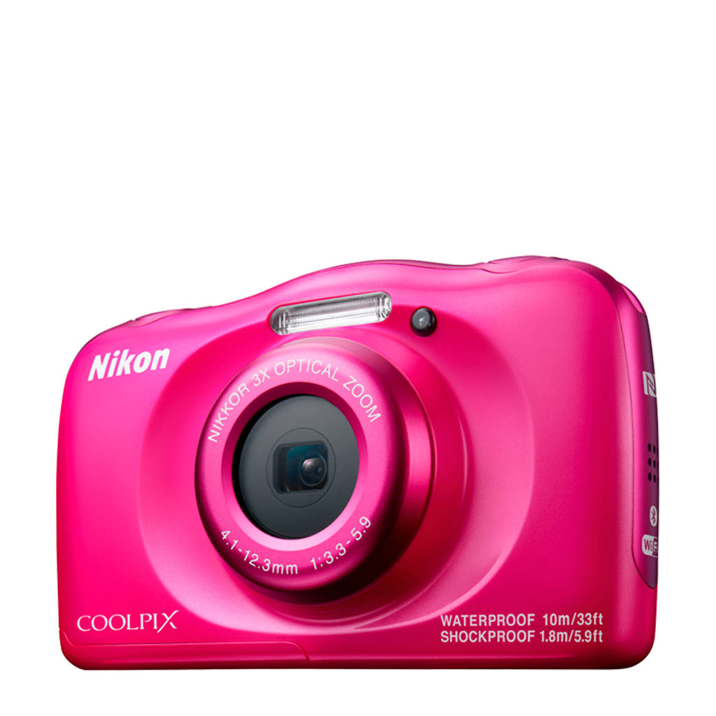 Nikon Coolpix W100 roze compact camera