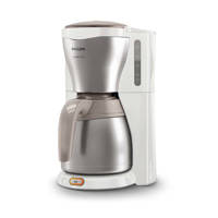 Philips HD7546/00 Café Gaia koffiezetapparaat, Wit, metallic