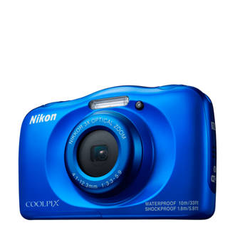 Nikon Coolpix W100 blauw compact camera