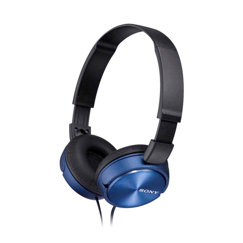 Sony ZX310 on-ear koptelefoon blauw, Blauw