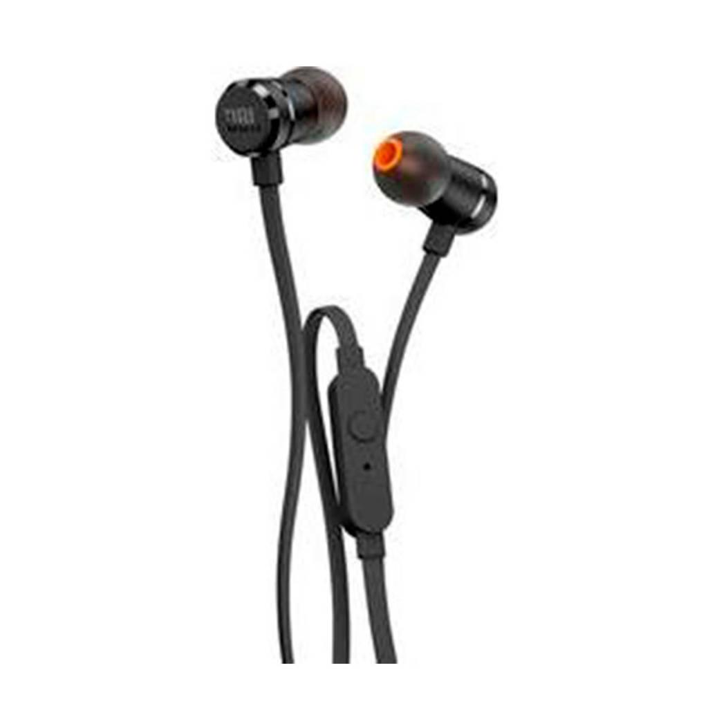 JBL T210 in-ear hoofdtelefoon (zwart), Zwart