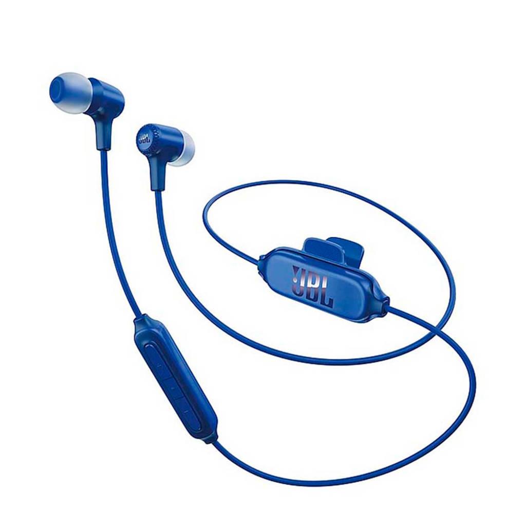 JBL E25 in ear bluetooth koptelefoon blauw, Blauw