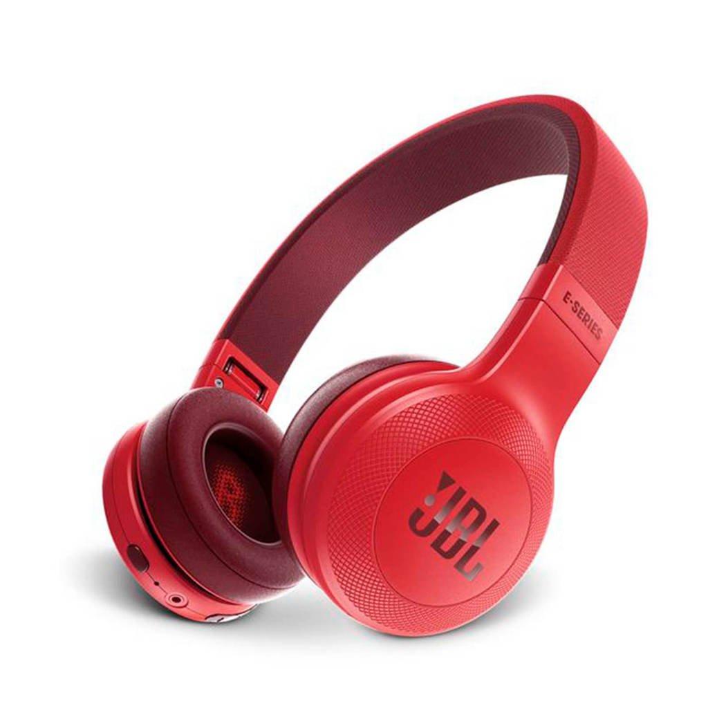 JBL E45 on-ear bluetooth koptelefoon rood, Rood