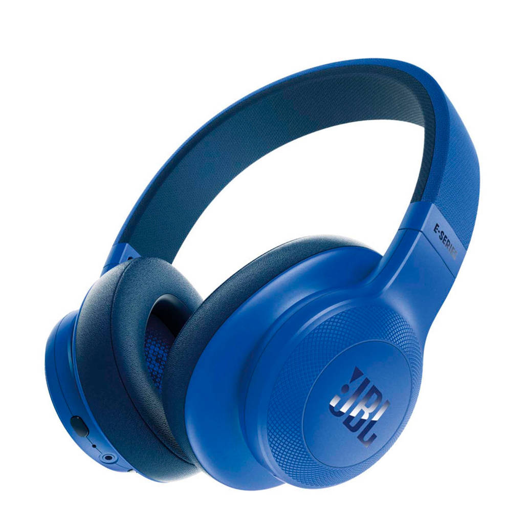 JBL E55 over-ear bluetooth koptelefoon blauw, Blauw