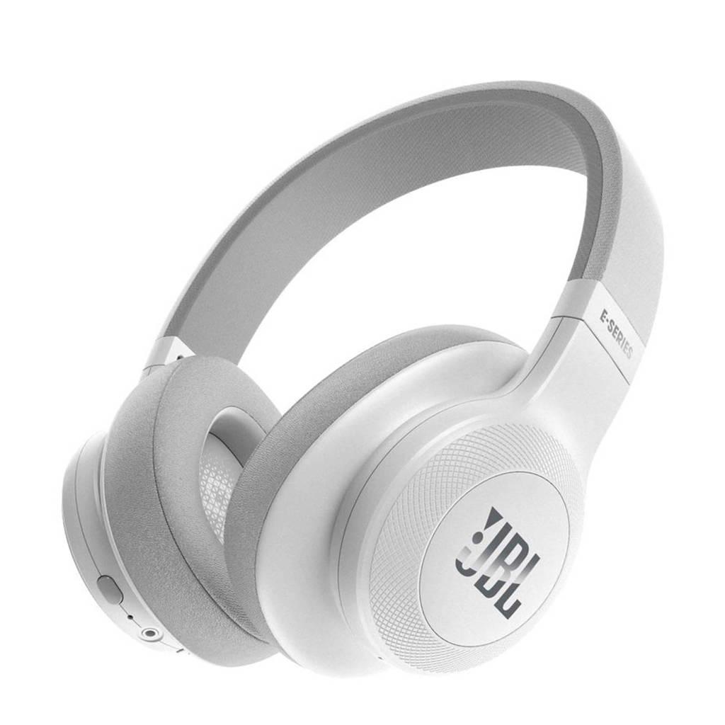 JBL E55 over-ear bluetooth koptelefoon wit, Wit
