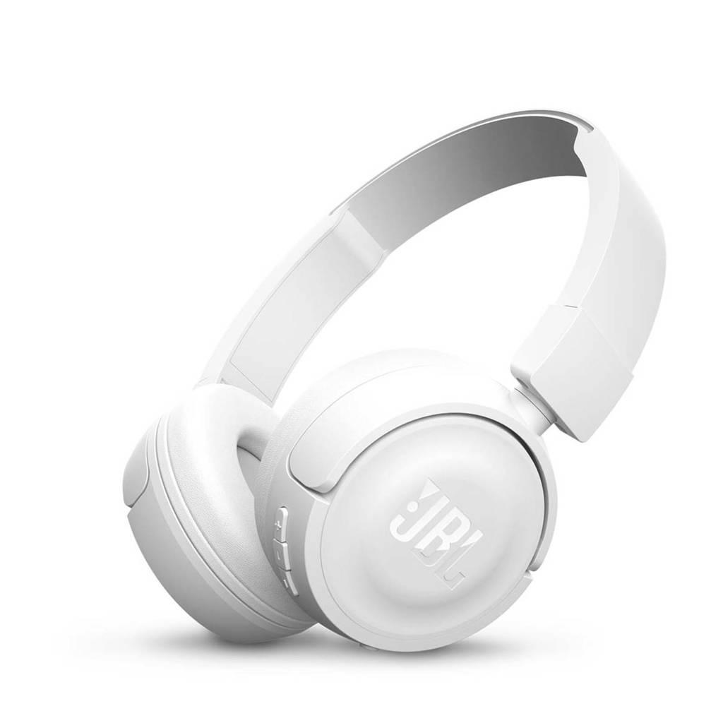 JBL T450BT on-ear bluetooth koptelefoon wit, Wit