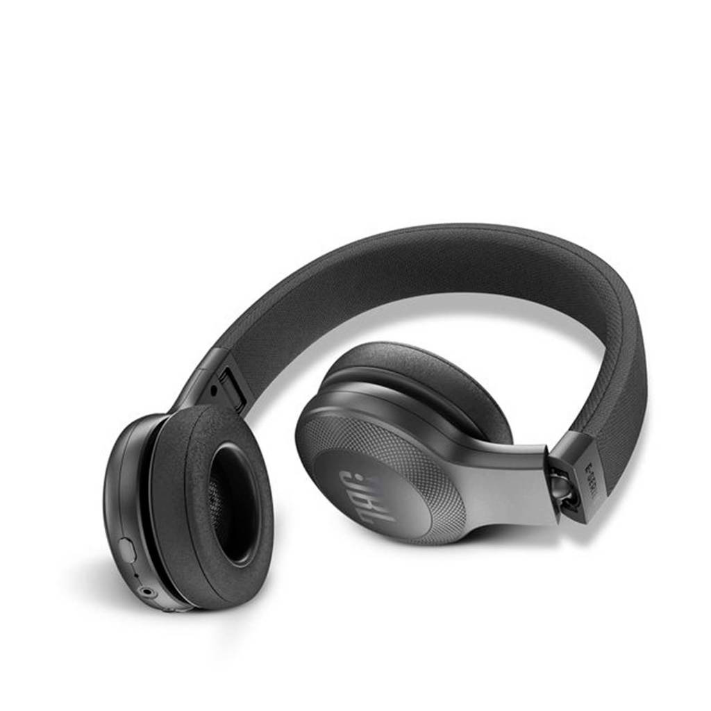JBL E45 on-ear bluetooth koptelefoon zwart, Zwart