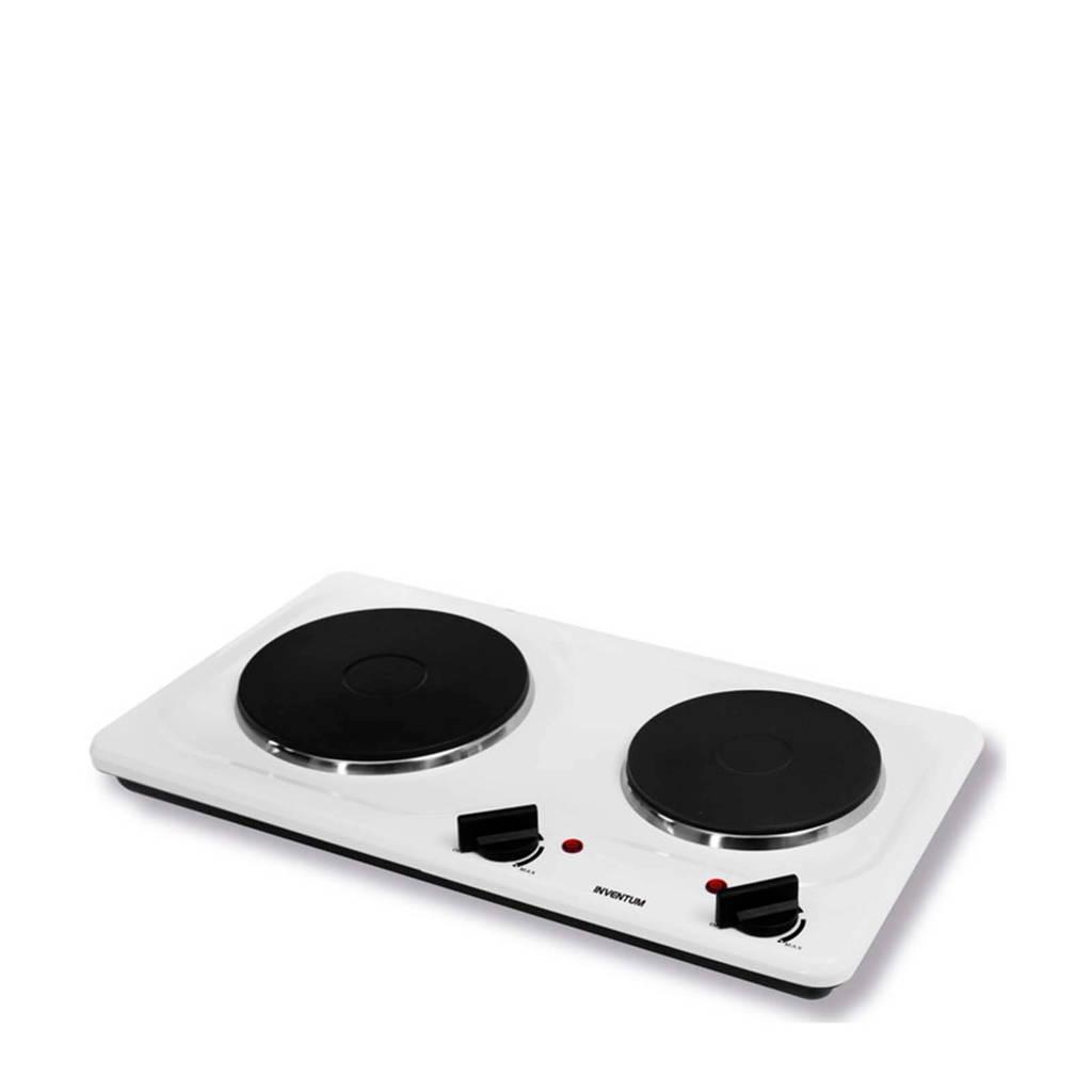 Inventum KP521W elektrische kookplaat, Wit