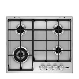 HG654550SM inbouw gaskookplaat 59,5 cm