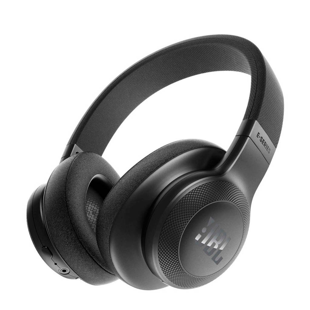 JBL E55 over-ear bluetooth koptelefoon zwart, Zwart