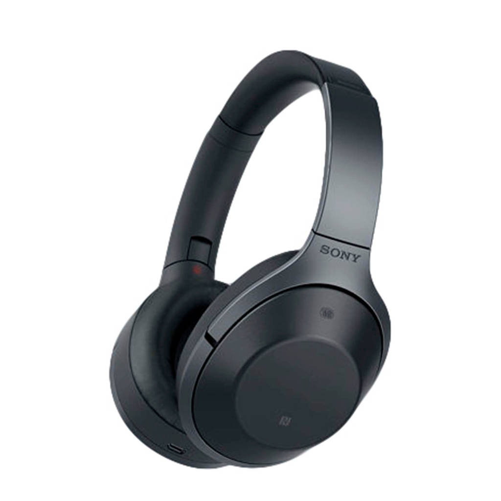 Sony MDR-1000X over-ear bluetooth koptelefoon zwart, Zwart