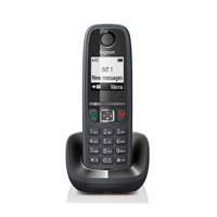 Gigaset AS405 SINGLE Huistelefoon, Zwart