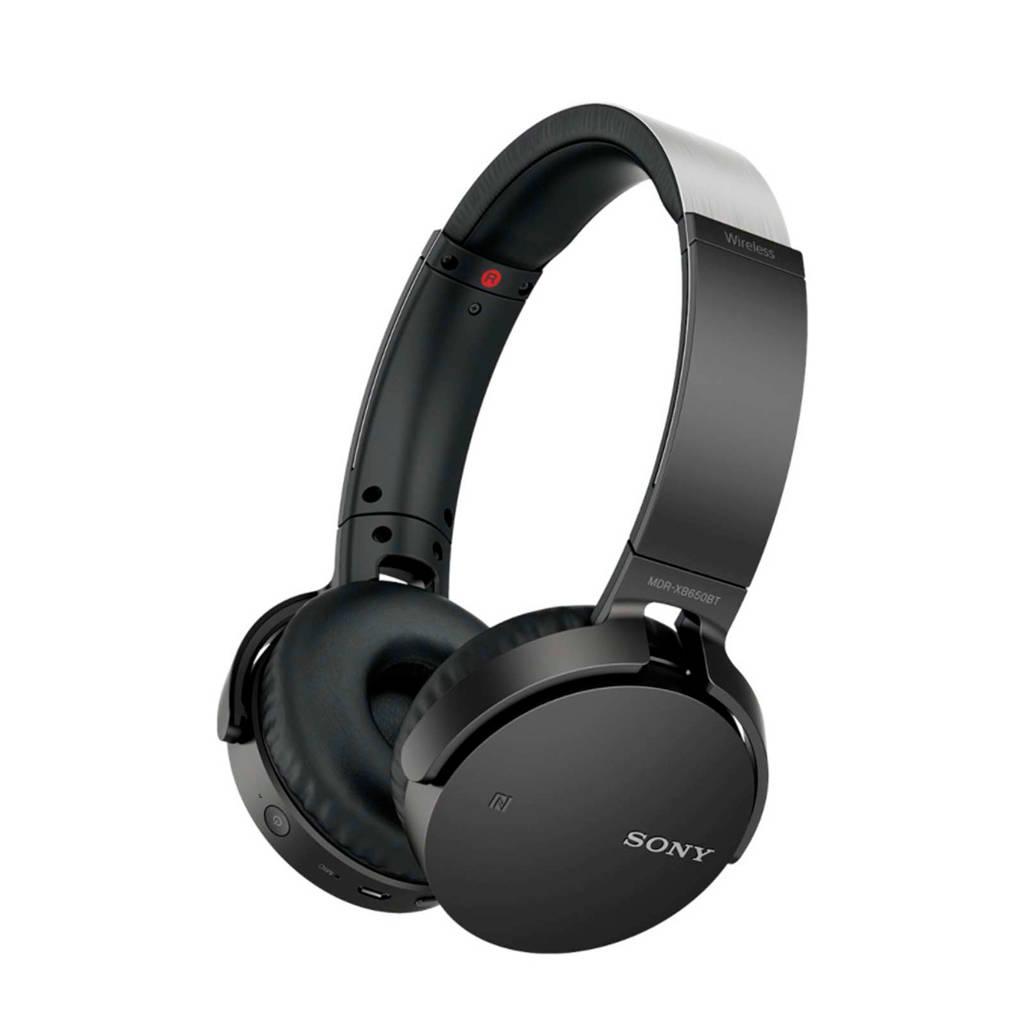 Sony MDR-XB650BT on-ear bluetooth koptelefoon zwart, Zwart