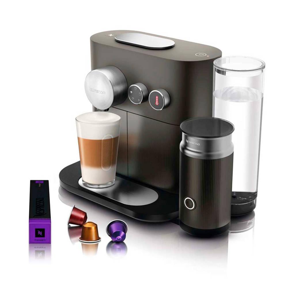 Magimix Expert & Milk Anthracite Grey M500 Nespresso machine, Grijs