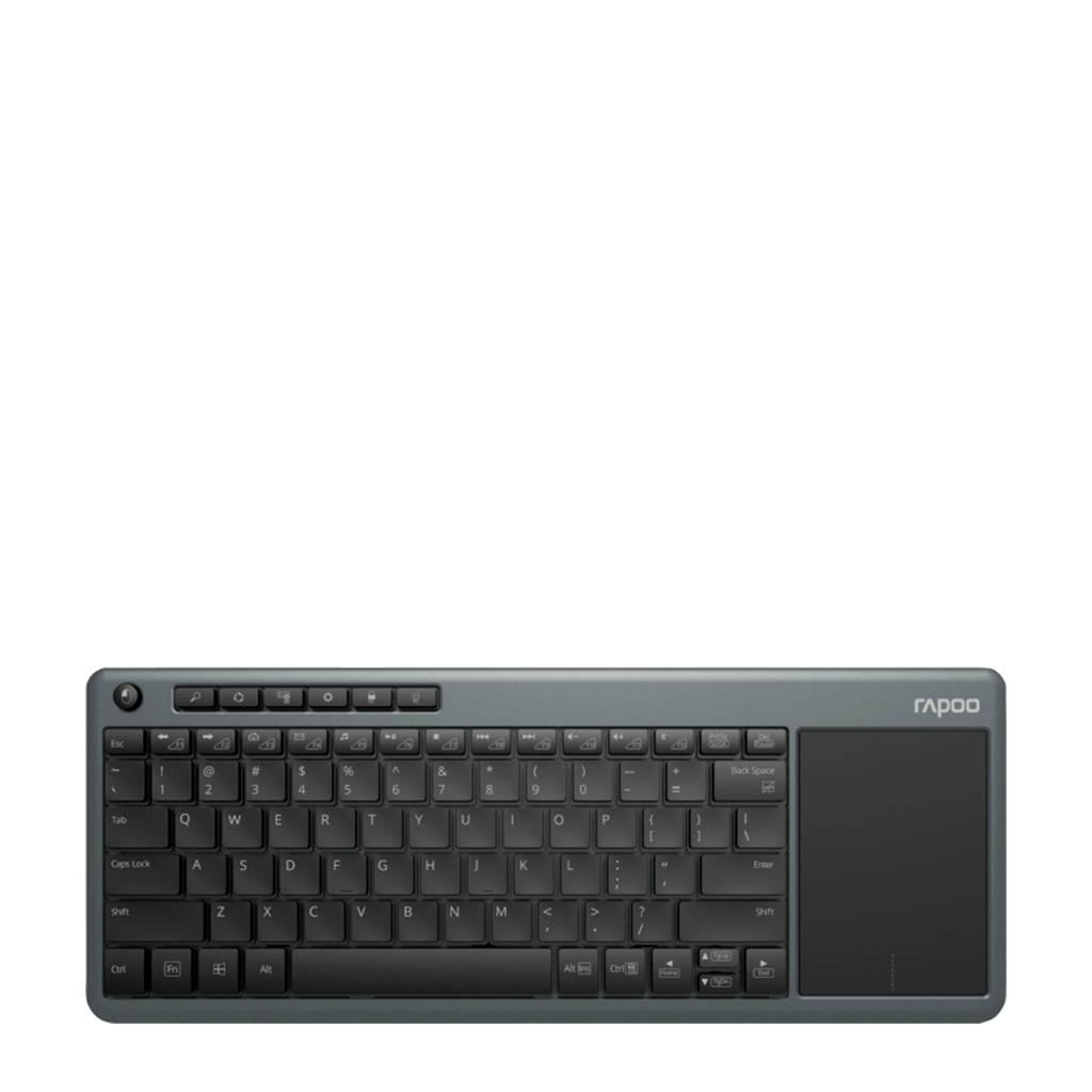 Rapoo K2600 GR-NL draadloos toetsenbord, Grijs